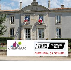 Passage du Tour de France à Cherveux le 9 septembre 2020