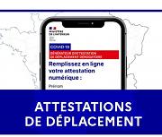 NOUVELLES MESURES GOUVERNEMENTALES À COMPTER DU 16/01/2021